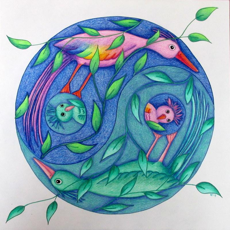 Mandala tekenen